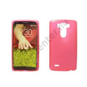 LG C50 Leon vékony szilikon hátlap,Pink