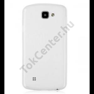 LG K7 vékony szilikon hátlap, átlátszó