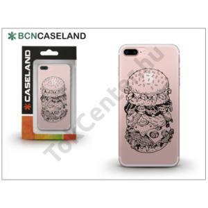 Apple iPhone 7 Plus /APPLE iPhone 8 Plus 5.5`` szilikon hátlap - BCN Caseland Burguer - transparent