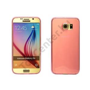 Galaxy S6 ultravékony szilikon hátlap,Pink