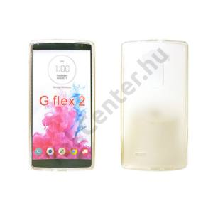 LG G Flex 2 vékony szilikon hátlap,Átlátszó
