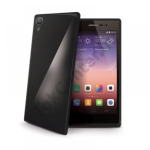 Celly Huawei P8 szilikon hátlap,Fekete