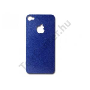 iDress iPhone 4/4S kijelzővédő+hátlap fólia,kék