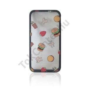 'Burger Overload' - Műanyag hátlap, Huawei P9 Lite