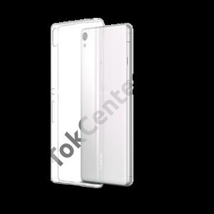 Sony Xperia X vékony szilikon hátlap, átlátszó