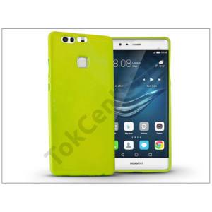 Huawei P9 szilikon hátlap - Jelly Flash - zöld