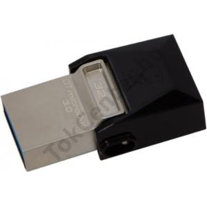 Kingston 32 GB OTG Flash Drive,USB 3.0, Barna