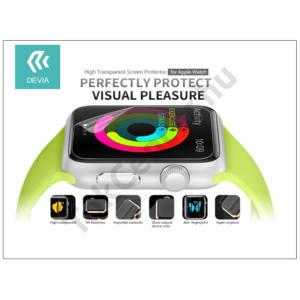 Apple Watch képernyővédő fólia - Devia High Transparent Screen Protector 38 mm - clear
