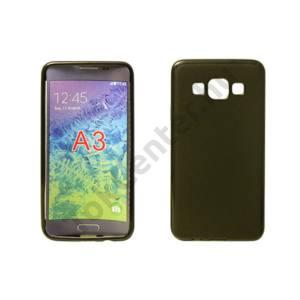 Samsung Galaxy A3 vékony szilikon hátlap,Fekete