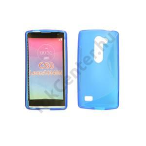LG C50 Leon TPUS vékony szilikon hátlap,Kék