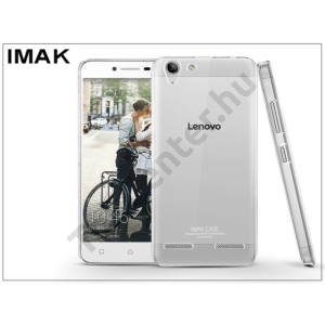 Lenovo K5 Plus hátlap - IMAK Crystal Clear Slim - transparent