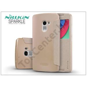 Lenovo Vibe X3 Lite/Vibe K4 Note oldalra nyíló flipes tok - Nillkin Sparkle - gold