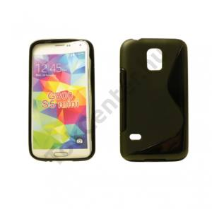 Galaxy S5 mini TPUS szilikon hátlap,Fekete