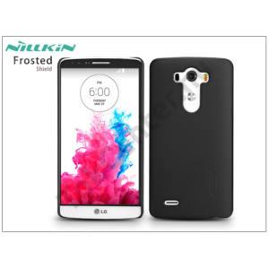LG G3 D855 hátlap képernyővédő fóliával - Nillkin Frosted Shield - fekete