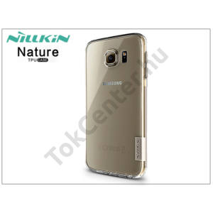 Samsung SM-G920 Galaxy S6 szilikon hátlap - Nillkin Nature - transparent