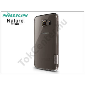 Samsung SM-G920 Galaxy S6 szilikon hátlap - Nillkin Nature - szürke