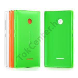 Microsoft Lumia 435/532 szilikon hátlap,Zöld
