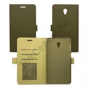 Huawei Y6 flip oldalra nyiló tok, Fekete