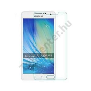 SAMSUNG Galaxy A3 (2017) (SM-A320F) ENKAY képernyővédő fólia (1 db, edzett üveg, 2.5D lekerekített szél, karcálló, 0.26mm, 9H) TEMPERED FEKETE