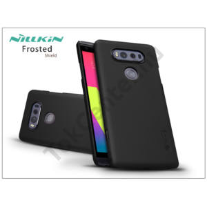 LG V20 hátlap képernyővédő fóliával - Nillkin Frosted Shield - fekete