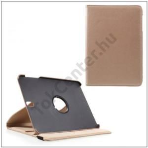 SAMSUNG Galaxy Tab S3 9.7 Tok álló, bőr (FLIP, asztali tartó funkció, 360°-ban forgatható) ARANY