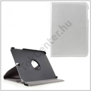 SAMSUNG Galaxy Tab S3 9.7 Tok álló, bőr (FLIP, asztali tartó funkció, 360°-ban forgatható) EZÜST