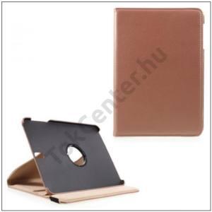 SAMSUNG Galaxy Tab S3 9.7 Tok álló, bőr (FLIP, asztali tartó funkció, 360°-ban forgatható) ROZÉARANY