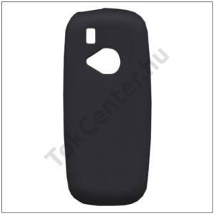 NOKIA 3310 (2017) Telefonvédő gumi / szilikon (matt, fényes keret) FEKETE