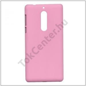 NOKIA 5 Műanyag telefonvédő (gumírozott) RÓZSASZÍN