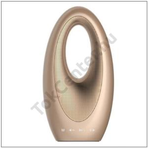 BLUETOOTH hangszóró (microSD kártyolvasó, 3.5 mm jack csatlakozó, FM rádió, modern dizájn) ARANY