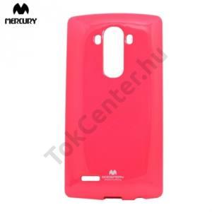 SAMSUNG Galaxy S8 (SM-G950) MERCURY Goospery telefonvédő gumi / szilikon (csillámporos) PINK