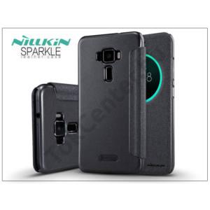 Asus Zenfone 3 (ZE520KL) oldalra nyíló flipes tok - Nillkin Sparkle - fekete