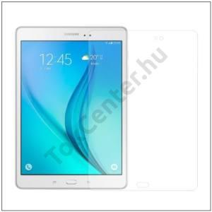 SAMSUNG Galaxy Tab A 9.7 Képernyővédő fólia törlőkendővel (1 db-os, edzett üveg, karcálló, 0,3mm, 9H) TEMPERED GLASS