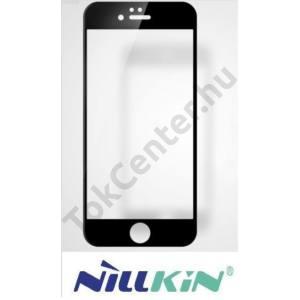 APPLE IPhone 6 Plus /6S Plus NILLKIN képernyővédő fólia (1 db-os, 3D full cover, íves, ultravékony előlap, edzett üveg, karcálló, 0.23 mm, 9H) FEKETE