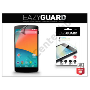LG D821 Nexus 5 képernyővédő fólia - 2 db/csomag (Crystal/Antireflex HD)
