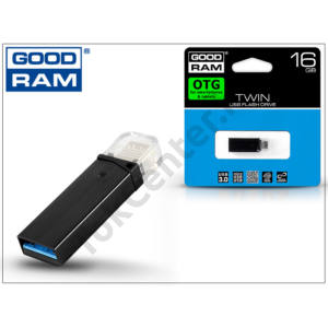 16 GB OTG micro USB - USB pendrive - Goodram Twin USB 3.0 - black
