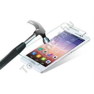 HUAWEI Y6 Képernyővédő fólia törlőkendővel (1 db-os, edzett üveg, karcálló, 0.33mm vékony, 9H) TEMPERED GLASS