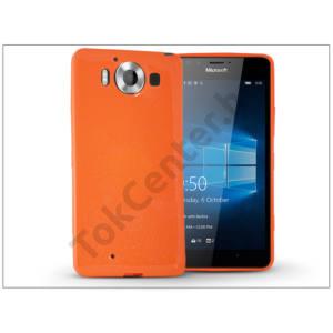 Microsoft Lumia 950 szilikon hátlap - Jelly Flash - narancs