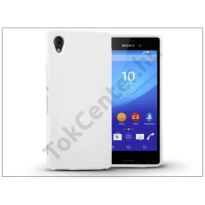 Sony Xperia M4 Aqua (E2303/E2306/E2353) szilikon hátlap - Jelly Flash - fehér