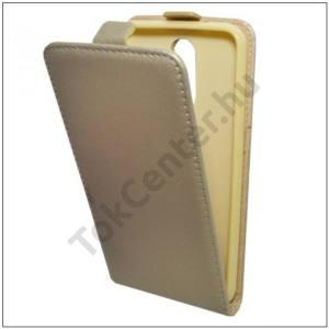 SAMSUNG Galaxy S8 Tok álló, bőr (FLIP, mágneses, szilikon tartó) ARANY