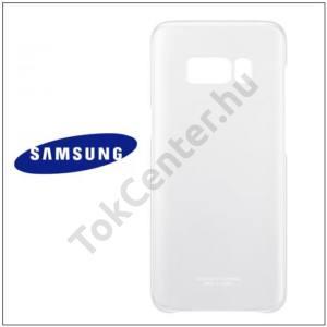 SAMSUNG Galaxy S8 Plus (SM-G955) Műanyag telefonvédő ÁTLÁTSZÓ/EZÜST