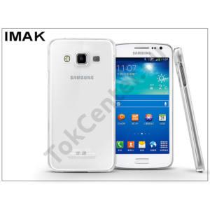 Samsung SM-A300F Galaxy A3 hátlap - IMAK Crystal Clear Slim - transparent