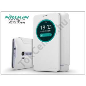 Asus Zenfone Go (ZB551KL) oldalra nyíló flipes tok - Nillkin Sparkle - fehér