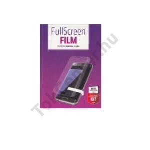 HUAWEI P9 Plus Képernyővédő fólia törlőkendővel (1 db-os, full screen, íves részre, öntapadós PET, nem visszaszedhető) CRYSTAL áttetsző