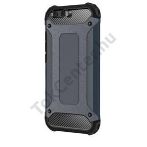 Samsung Galaxy A5 (2017) (SM-A520F) Defender műanyag telefonvédő (közepesen ütésálló, gumi / szilikon belső, fémhatás) SÖTÉTKÉK