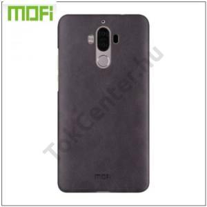 HUAWEI Mate 9 MOFI műanyag telefonvédő (bőrbevonat) FEKETE