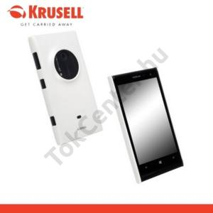 Nokia Lumia 1020 KRUSELL ColorCover műanyag telefonvédő METÁLFEHÉR