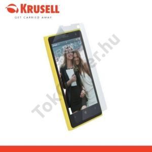 Nokia Lumia 1020 KRUSELL képernyővédő fólia, törlőkendővel  (1 db-os) ultravékony, környezetbarát anyagból