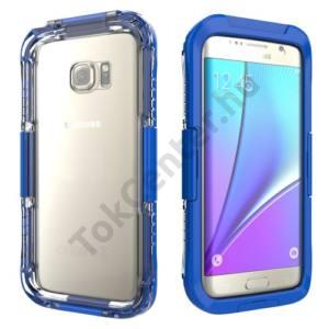 Samsung Galaxy S7 EDGE (SM-G935) Vízhatlan / vízálló tok, AQUA (6 méterig) SÖTÉTKÉK