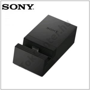 GYÁRI SONY Asztali töltő állvány (USB Type-C) FEKETE